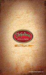 Download Rocklin Menu PDF - Skipolini's Pizza
