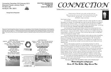 Connection - Ebenezer Lutheran