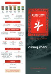 download restaurant menu - Pizza Cafe