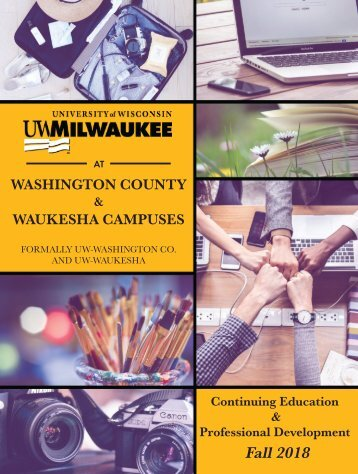 2018 Catalog UWM Waukesha & Washington Co