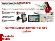Garmin Support Number For GPS Update