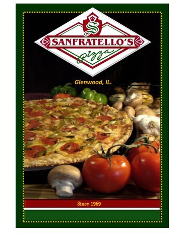Glenwood, IL. - Sanfratello's Pizza