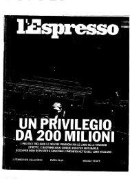 Qui puoi consultare l'inchiesta pubblicata l'11 - SILP Lombardia