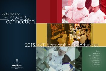 connection - American Culinary Federation