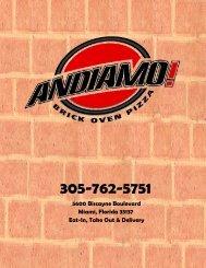 305-762-5751 - Andiamo Pizza