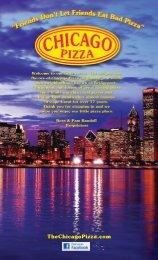 Menu - Chicago Pizza