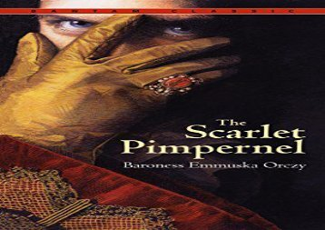 AudioBook The Scarlet Pimpernel (Bantam Classic) Review
