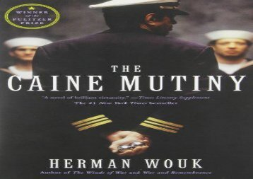 PDF Online Caine Mutiny For Full
