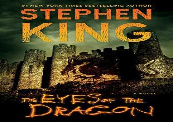 AudioBook The Eyes of the Dragon Epub