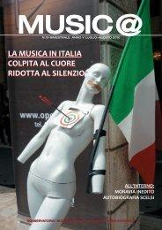 Music@ N.19 Anno V Luglio-Agosto 2010 - Bimestrale di musica
