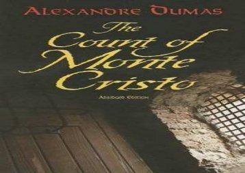 Free PDF The Count of Monte Cristo (Dover Books on Literature   Drama) Review