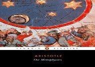 AudioBook The Metaphysics (Penguin Classics) Epub