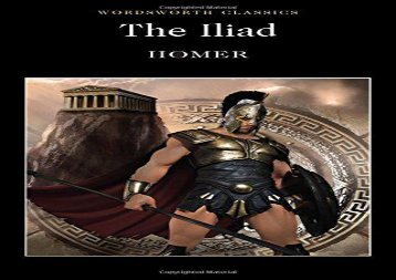Read Online Iliad (Wordsworth Classics) For Kindle