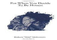 Read Online for when you decide to be honest For Kindle