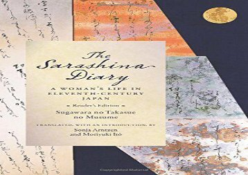 AudioBook The Sarashina Diary: A Woman s Life in Eleventh-Century Japan (Reader s Edition) (Translations from the Asian Classics) Review