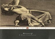 PDF Download Beowulf: A Prose Translation (Penguin Classics) For Kindle
