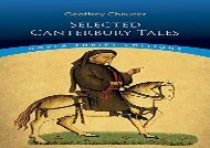 PDF Online Canterbury Tales:General Prologue,Knight s Tale,Miller s Prologue and Tale,Wife of Bath s Prologue and Tale (Dover Thrift Editions) For Kindle