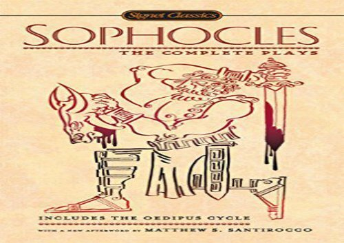 Sophocles The Complete Plays