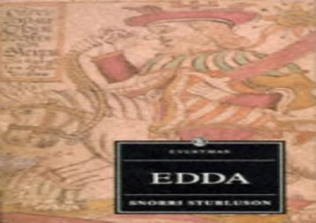 AudioBook Edda (Everyman) Review