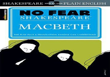 PDF Download Macbeth: No Fear Shakespeare (Spark Notes) Any Format