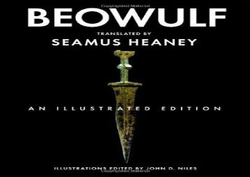 PDF Online Beowulf: An Illustrated Edition Any Format