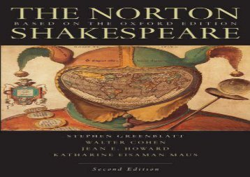 PDF Online The Norton Shakespeare: Based on the Oxford Edition For Full
