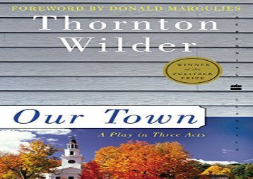 PDF Download Our Town (Perennial Classics) Review