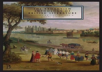 PDF Online The Broadview Anthology of British Literature, Concise Edition, Volume A Epub