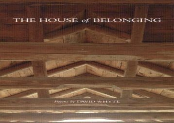 Free PDF The House of Belonging For Full