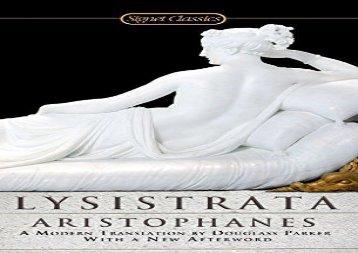 AudioBook Lysistrata (Signet Classics (Paperback)) For Full