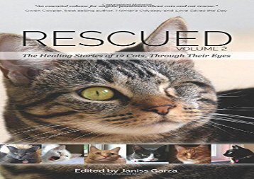 Read Online Rescued Volume 2: The Healing Stories of 12 Cats, Through Their Eyes Any Format