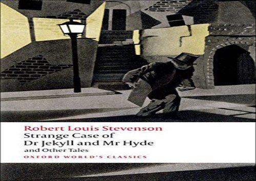 Read Online Strange Case Of Dr Jekyll And Mr Hyde And Other Tales N