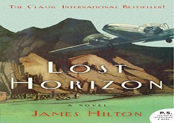PDF Download Lost Horizon (P.S.) Review