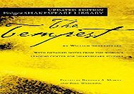 Read Online The Tempest (New Folger Library Shakespeare) For Kindle