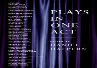 PDF Download Plays in One Act For Full
