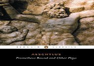 Free PDF Prometheus Bound and Other Plays: The Suppliants; Seven Against Thebes; The Persians (Classics) For Full