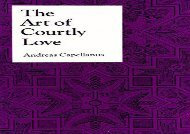 PDF Online The Art of Courtly Love (Records of Western Civilization Series) Epub