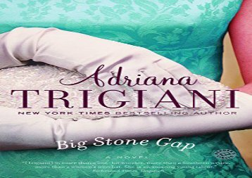 Read Online Big Stone Gap (Big Stone Gap Novels) Review