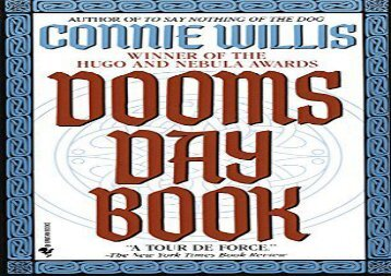 Free PDF The Doomsday Book (Oxford Time Travel) Review
