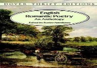 PDF Download English Romantic Poetry: An Anthology (Dover Thrift Editions) For Full