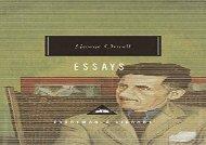 Free PDF Essays (Everyman s Library Classics   Contemporary Classics) For Full