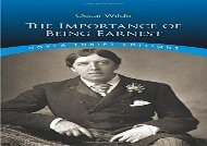 AudioBook The Importance of Being Earnest (Dover Thrift Editions) For Full