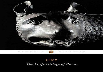 AudioBook The Early History of Rome: Bks. 1-5 (Penguin Classics) For Kindle