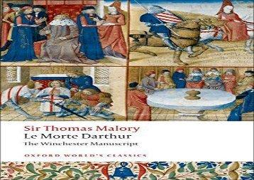AudioBook Le Morte Darthur The Winchester Manuscript (Oxford World s Classics) Any Format