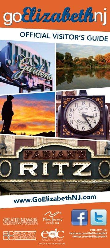 Official VisitOr's Guide www.GoElizabethNJ.com