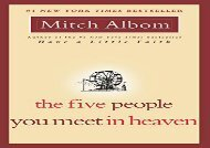 AudioBook The Five People You Meet in Heaven Any Format