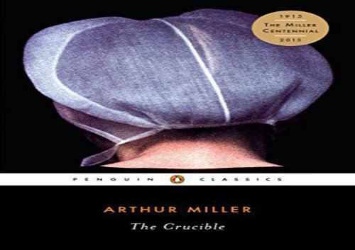 The Crucible By Arthur Miller Pdf