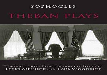 Audiobook The Three Theban Plays Antigone Oedipus The King