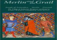 Free PDF Merlin and the Grail: Joseph of Arimathea, Merlin, Perceval: The Trilogy of Arthurian Prose Romances attributed to Robert de Boron (48) (Arthurian Studies) For Kindle