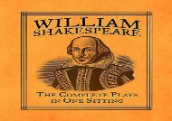 AudioBook William Shakespeare: The Complete Plays in One Sitting (Miniature Editions) For Full